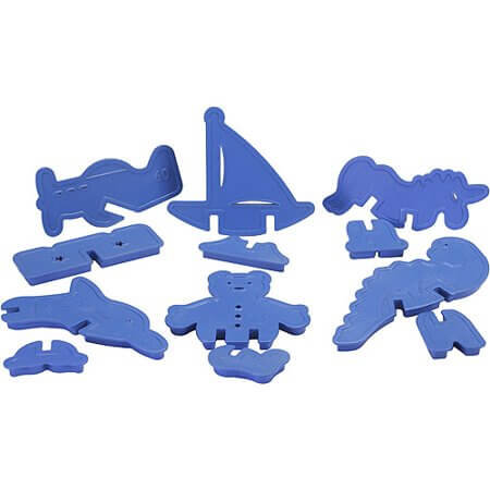 Nordic Ware - 3D Party Series Plastic Cookie Cutters