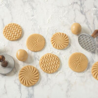 Nordic Ware - Geo Cast Cookie Stamps
