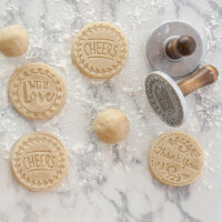 Nordic Ware - Greetings Heirloom Cookie Stamps
