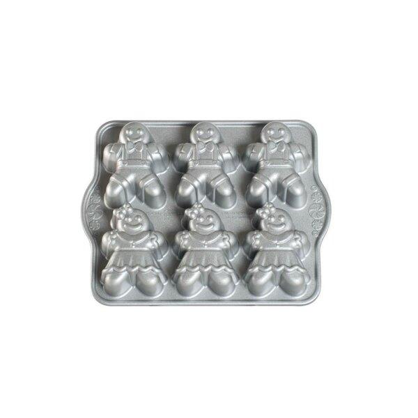 Nordic Ware - Gingerbread Kids Cakelet Pan
