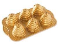 Nordic Ware - Beehive Cakelet Pan, Gold